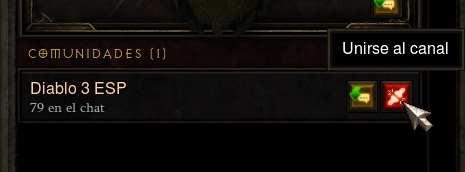 ¡Únete a la comunidad Diablo 3 ESP dentro del juego!